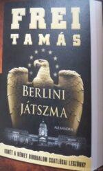 A Berlini játszma c. könyv borítóterve az Agrárbárók könyvajánlójából.