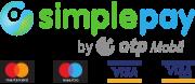 Az elfogadott bankkártya-típusok logói.