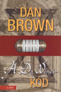 A Da Vinci-kód c. könyv borítója (szerző: Dan Brown)