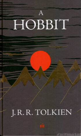 A Hobbit könyv változatának borítója
