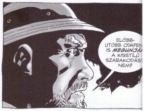 Mintaoldal a 2. Walking Dead képregényfüzetből (Úton)