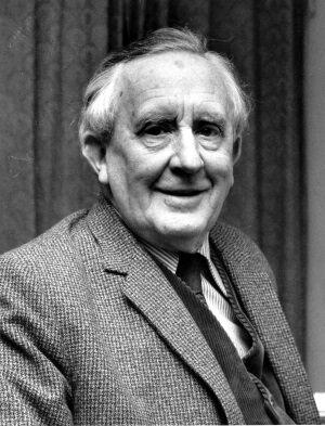 J. R. R. Tolkien időskori fotója