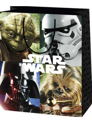 Star Wars ajándéktasak, nagy (13x26x32,5 cm)