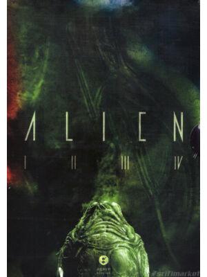 Alien-tetralógia díszdobozban [4 Alien filmkönyv]