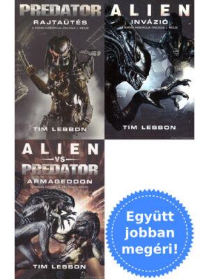 A teljes Harag Háborúja trilógia [3 Alien / Predator könyv]
