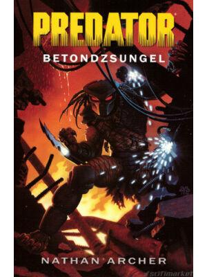 Betondzsungel [Antikvár Predator könyv]