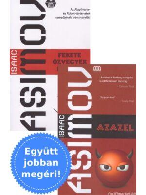 Asimov Azazel és Fekete Özvegyek klubja könyvcsomag