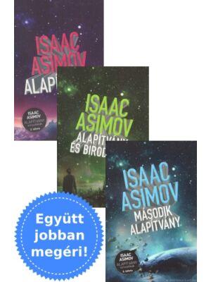 Asimov Alapítvány könyvtrilógiája a Gabo kiadótól