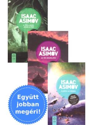 Asimov Birodalom sorozatának 3 könyve csomagban