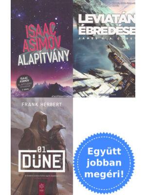 3 sci-fi könyv csomagban kedvcsinálónak