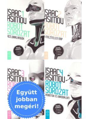 Asimov Robot sorozatának 4 könyve csomagban