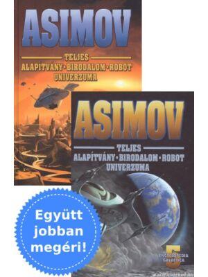 Asimov: Alapítvány trilógia, előzmény és folytatás