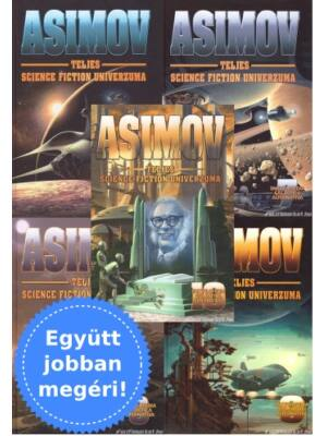 Asimov science fiction univerzuma 6-10. könyv