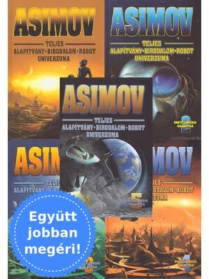 Asimov Alapítvány-Birodalom-Robot univerzuma 1-5. könyv