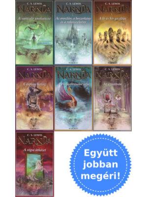A teljes Narnia krónikái könyvsorozat (1-7) csomagban