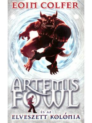 Artemis Fowl és az elveszett kolónia-5. könyv, Eoin Colfer