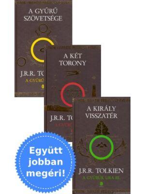 A Gyűrűk Ura [könyv, I-III. kötet, J. R. R. Tolkien]
