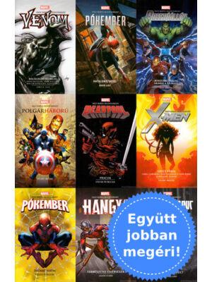 1-9. Marvel regény csomagban [Marvel könyvek]
