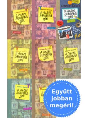 A teljes Szent Johanna gimi könyvsorozat csomagban [Leiner Laura]