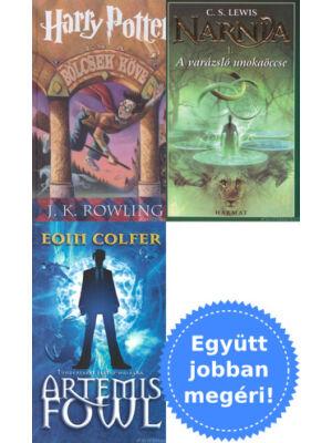 3 fantasy könyv fiataloknak csomagban kedvcsinálónak