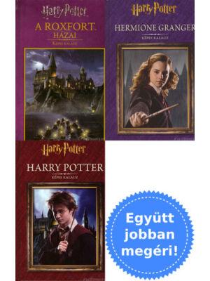 3 Harry Potter kiegészítő album csomagban