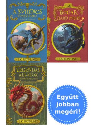 3 kiegészítő könyv Harry Potter világához [J. K. Rowling]
