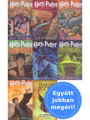 A teljes Harry Potter sorozat [8 rész, keményborítós]