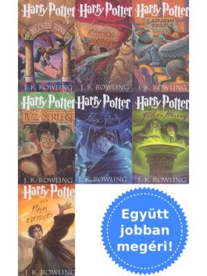 A Harry Potter sorozat első 7 része [keményborítós]