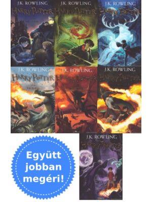 A Harry Potter könyvsorozat 7 része csomagban [puhatáblás]