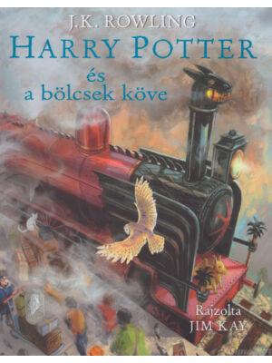 Harry Potter és a bölcsek köve [illusztrált 1. könyv, J. K. Rowling]