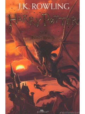 Harry Potter és a Főnix Rendje [5. könyv, puhatáblás]
