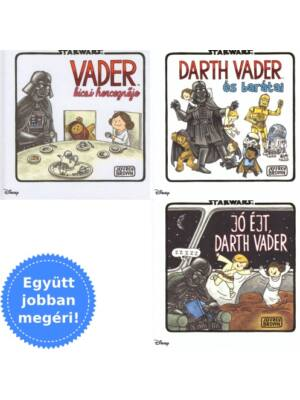 3 Darth Vaderes gyerekkönyv egy csomagban