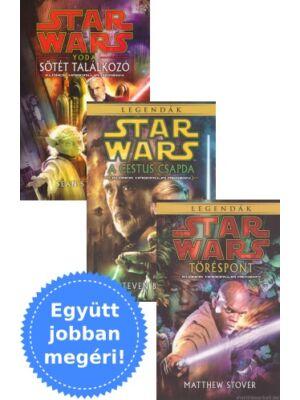 3 klón háborús könyv egy csomagban