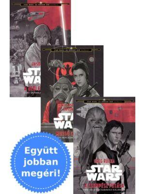 3 Star Wars ifjúsági könyv