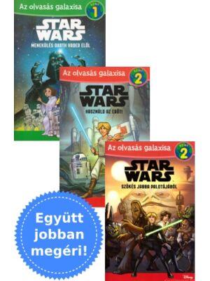 3 Star Wars olvasókönyv egy csomagban
