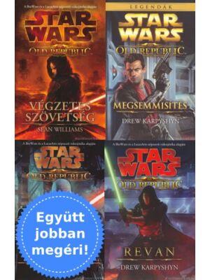 4 Old Republic könyv egy csomagban