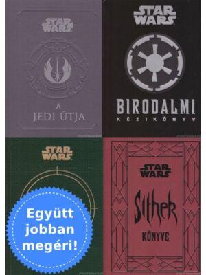4 kiegészítő könyv a Star Wars világához