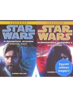 Star Wars klónháborús játszmák I-II. csomagban [Karen Miller]