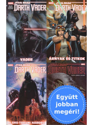 4 Darth Vader képregény csomagban