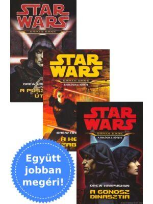 A Darth Bane könyvtrilógia egy csomagban