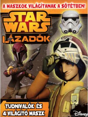Lázadók foglalkoztató sötétben világító maszkkal [Star Wars gyerekkönyv]