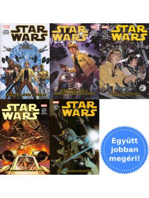5 Star Wars képregény csomagban