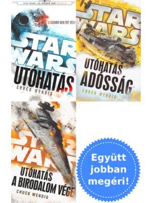 A teljes Utóhatás trilógia [3 Star Wars könyv]