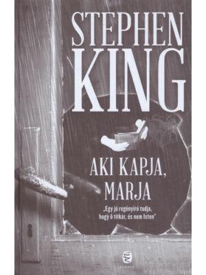 Aki kapja, marja [Stephen King könyv]