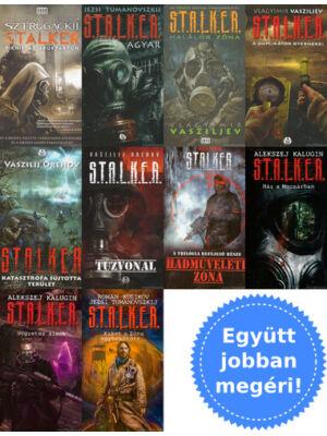 10 Stalker könyv csomagban