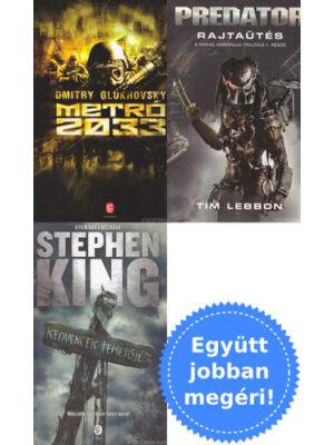 3 horror könyv csomagban kedvcsinálónak