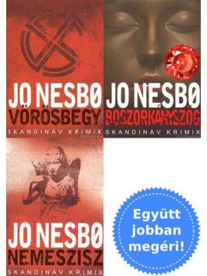 3 Jo Nesbo skandináv krimi könyv csomagban