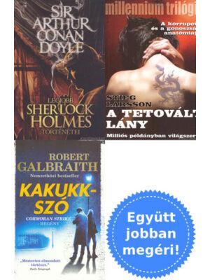 3 krimi könyv csomagban kedvcsinálónak