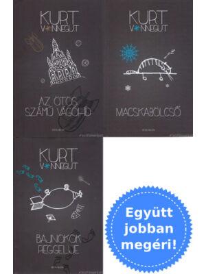3 megfilmesített Kurt Vonnegut könyv csomagban
