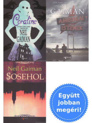 3 Neil Gaiman filmkönyv csomagban